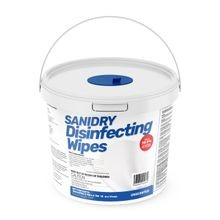 SaniDry® Disinfecting Wipes and Bucket (502030)