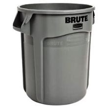 Rubbermaid Commercial® Brute® Vented 10 Gallon Gray Container (FG261000GRAY)
