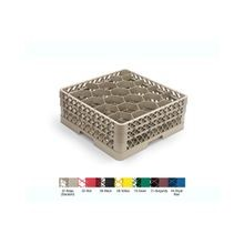 Vollrath® Traex® Beige Full Size 25-Compartment Glass Rack with 2 Extenders (TR11GG)