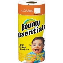 P&G® Bounty® Essentials 2-Ply Full Sheet Household Paper Roll Towels (74657)