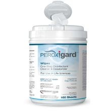 Peroxigard™ One Step Disinfectant Cleaner and Deodorizing Wipes (50565)