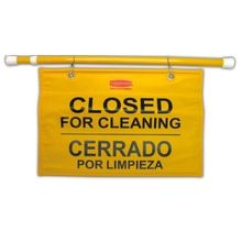Rubbermaid Commercial® Closed for Cleaning Safety Sign (9S16)