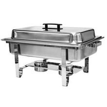 Thunder Group Stainless Steel 8qt Full Size Chafer Set (SLRCF001)