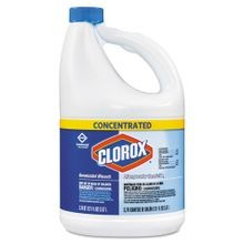 Clorox® Concentrated Germicidal Bleach - 121 oz Bottle (30966)