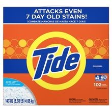 P&G® Tide® HE Laundry Detergent 143 oz Powder (85006)