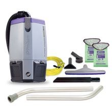 ProTeam® Super Coach Pro™ 6 HEPA Backpack Vacuum with Attachment Kit (107308)