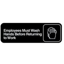 Vollrath® Rest Room Sign