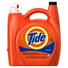 P&G® Tide® Liquid Detergent 138oz Bottles (23064)