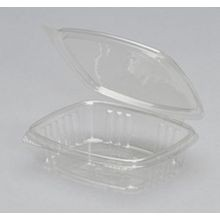 Koda Cup™ Clear Hinged 8 oz Deli Container (RPTHD08)