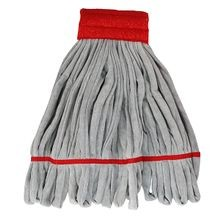 Unger® Smartcolor™ Red 16 oz Heavy Duty Microfiber String Mop
