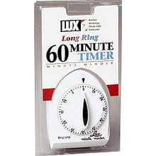 Lux 60 Minute Timer Long Ring White (1929)