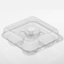 Par-Pak® 4 Cup Muffin Clear Container(2086PK)