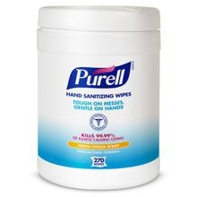 GOJO® PURELL® 270 Count Sanitizing Wipes Canister (9113-06)
