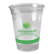 Fabri-Kal® Greenware™ Stock Print 16 oz Squat Plastic Cold Cups (GC16SFK)
