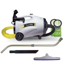ProTeam® QuietPro® CN HEPA 10 QT Canister Vacuum with Attachment Kit (107152)