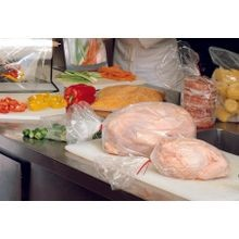 LK Packaging® Tuf-R® Clear Side Gusset Utility Meat Bag Medium Weight 8