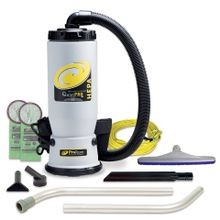 ProTeam® QuietPro® BP HEPA® 6 QT Backpack Vacuum (107146)