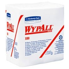 Kimberly Clark® Wypall™ X80 Shoppro® White Reusable 12.5