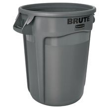 Rubbermaid Commercial® Brute® 32 Gallon Gray Garbage Can (2632)