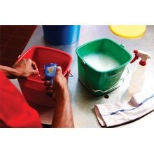 San Jamar® Green Cleaning 6 QT Kleen-Pail Bucket (KP196GN)