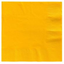 Sunshine Yellow 2-Ply Dinner Napkins
