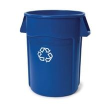 Rubbermaid Commercial® Brute® 44 Gallon Blue