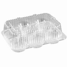 Par-Pak® 6 Count Cupcake Container High Top (2020Pk)