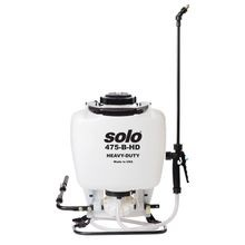 Solo® Heavy-Duty 4 Gallon Backpack Sprayer - Bleach Resistant (475-B-HD)