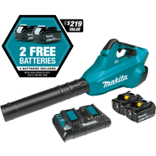 Makita® LXT® 36V Brushless Blower Kit with 4 Batteries (XBU02PT1)