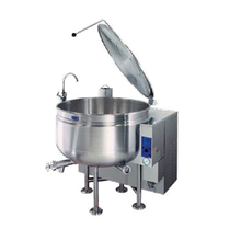 Cleveland KGL40SH Short Series Steam Jacketed Kettle, gas, 40-gallon capacity, full steam jacket design, 37.5
