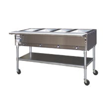 Eagle SPDHT3-208 Portable Hot Food Table, electric, 50-1/2