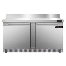 Continental SWF60-BS-FB Work Top Freezer, Front Breather, 60