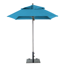Grosfillex 98669431 Windmaster Umbrella, 6-1/2 ft., square top, 1-1/2
