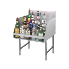 Advance Tabco LD-2118-X Liquor Bottle Display Unit, (5) steps, 18