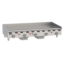 Vulcan MSA60 Heavy Duty Griddle, Countertop, Gas, 60