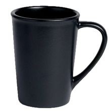 Chena Black Sedona Mug, 12 ounce capacity, Anfora, set of 12 (12 ea/cs), Steelite A901P038