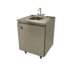 Mobile Hand Sink, cold water o nly, self-contained, 26