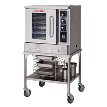 Blodgett DFG-50 BASE Convection Oven, gas, (base section only) half-size, single-deck, capacity (5) 13