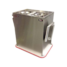 Carter-Hoffmann BH2S Convection Base Heater, 2-silo, capacity (120) bases or (150) plates, 208v/60/1-ph, 3230 watts, 15.4 amps, cord with NEMA 6-20P, cULus