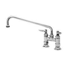 T&S Brass B-0225-M Mixing Faucet, deck mount, 12