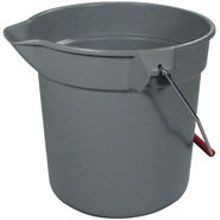 BUCKET ROUND 10QT GRAY 12/CS