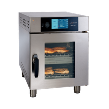 Alto Shaam VMC-H2 Vector_ H Series Multi-Cook Oven, electric, (2) individually controlled cooking chambers, (2) half-size sheet pan capacity, programmable touch screen controls