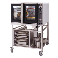 Blodgett HV-100G BASE HydroVection Oven, Gas, full size, (base section only) capacity (5) 18