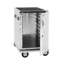 Cres Cor 309-128C Cabinet, Mobile Enclosed, half-size, insulated, lift-out interior, anti-microbial latches, capacity (8) 12