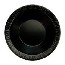 BOWL FOAM 12 OZ BLACK (1000) LAMINATED