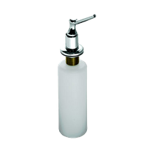 Krowne H-101 Krowne Soap Dispenser, deck mount, 13oz capacity, fits 1-1/8