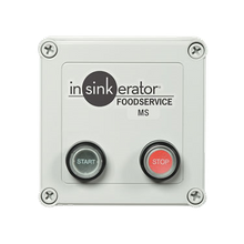 InSinkerator MS-7 Control Center, MS, manual (2) button ON/OFF switch, magnetic starter, for SS-50 to SS-200 disposers, NEMA 4 polycarbonate
