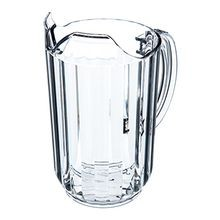 PITCHER PLASTIC 48 OZ CLEAR 6/CS