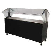 Advance Tabco B5-STU-B-SB Portable Solid Top Buffet Table, 77-3/4