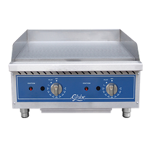 Globe GG24TG Griddle, countertop, natural gas, 24